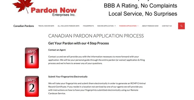 CanadaPardonsforusTravel.com :: Legal Services Website