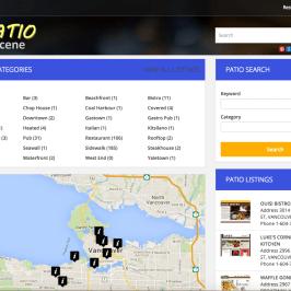 PatioScene.ca :: Directory Website Project