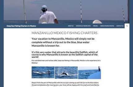 DeepSeaFishingChartersMexico.com :: Travel Website