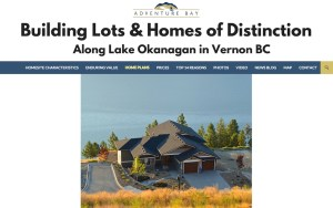 AdventureBayVernon.com Real Estate Developer Website