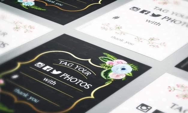 3 ΔΩΡΕΑΝ εικαστικά για hashtag κάρτες ή αφίσες