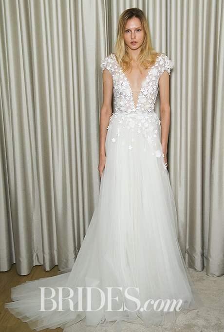 Wedding dress by Mira Zwillinger