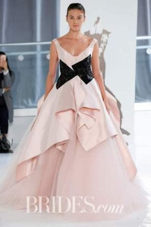 Photo by Gerardo Somoza/Indigital.tv Wedding dress by Peter Langner