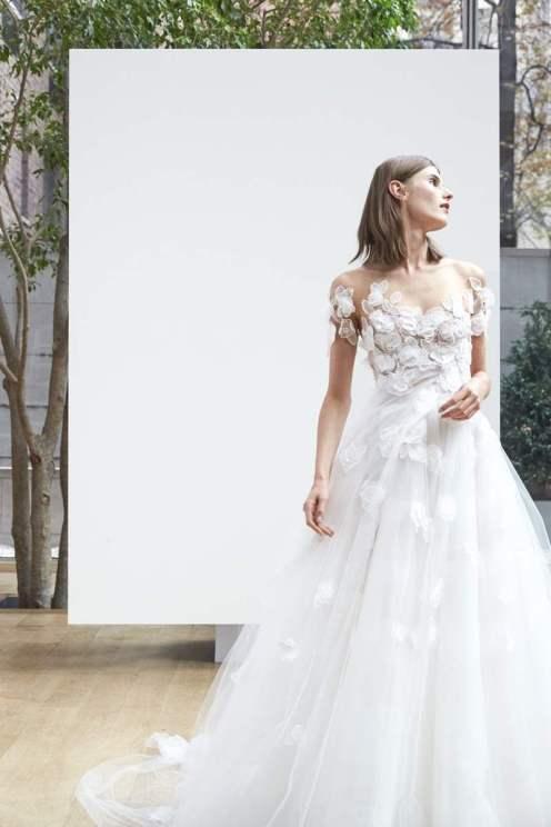 Alyssa Greenberg Wedding dress by Oscar de la Renta