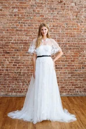 Courtesy of David's Bridal Wedding dress by Melissa Sweet for David's Bridal