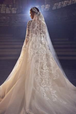 Courtesy of Elie Saab Wedding dress by Elie Saab