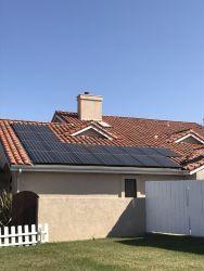 Composition Shingle Inlany, Solar Install