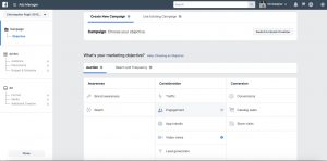 Facebook Ads Manager Screen shot by Christopher Pagli