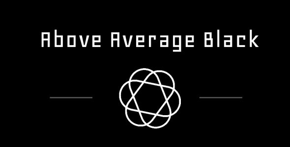 Above Average Black