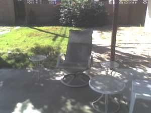 Ben's patio