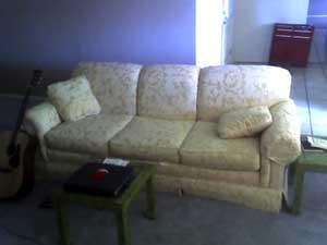 Ben's new sofa
