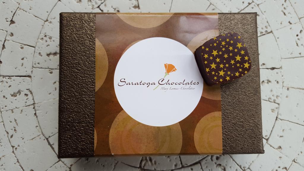 Box of Saratoga Chocolates