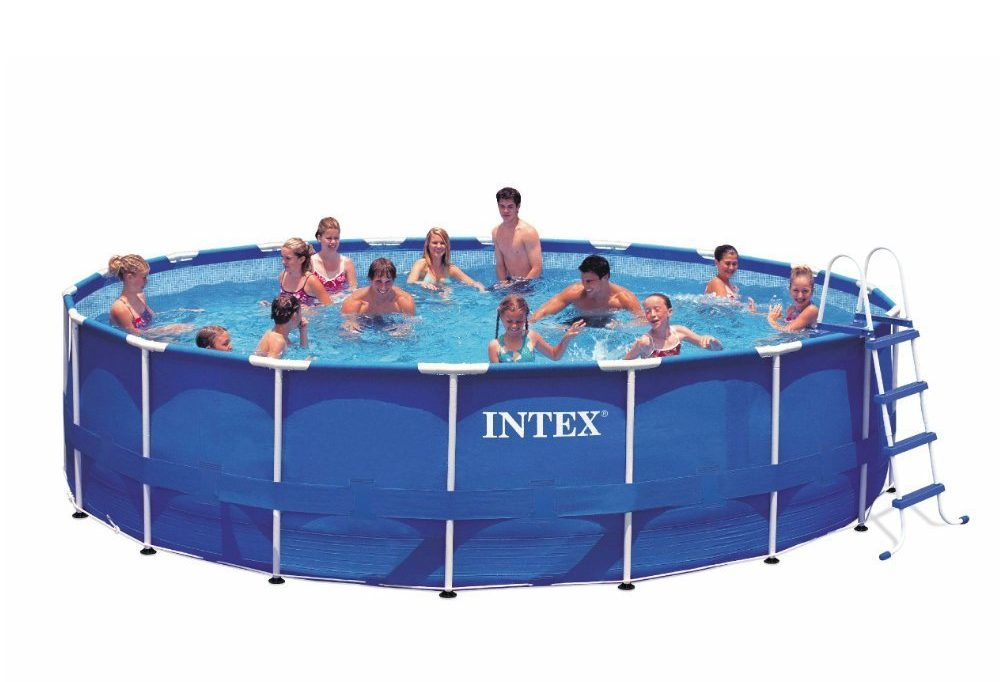Beautiful Intex Above Ground Pool