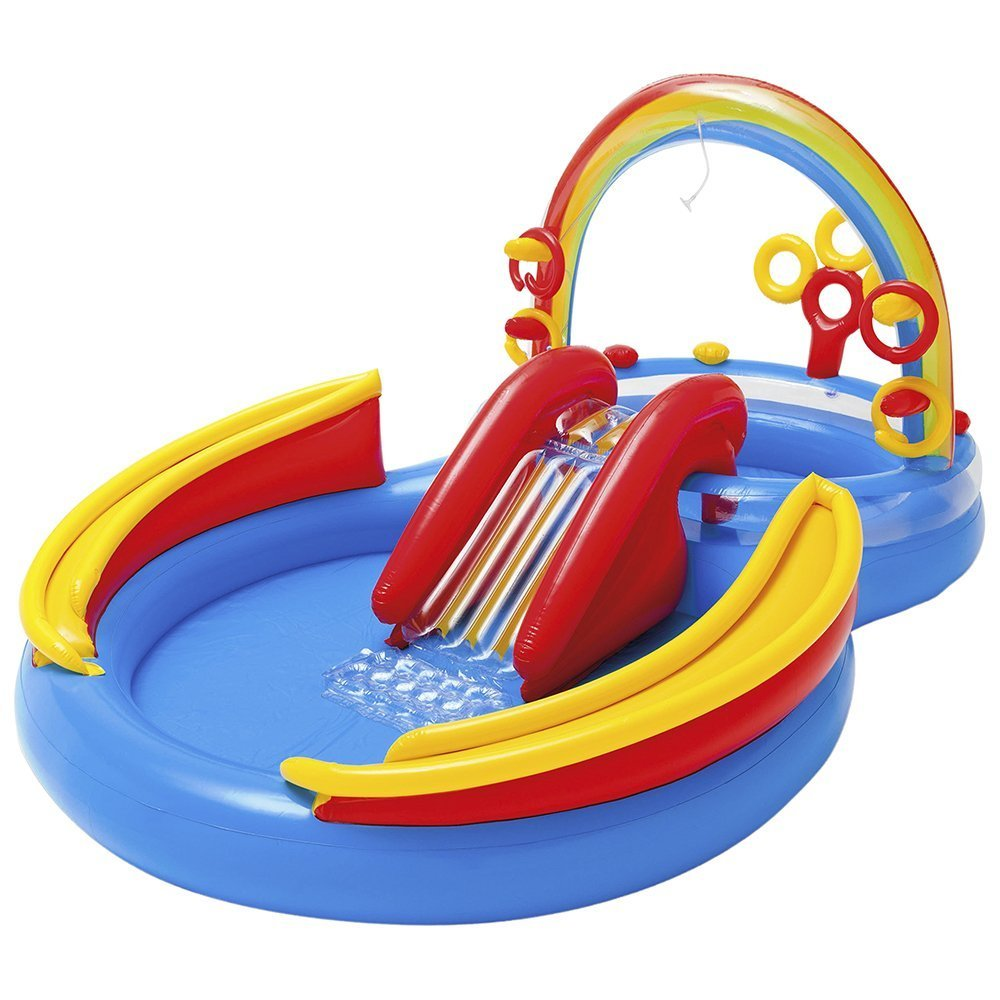 Intex Rainbow Ring Pool Best Inflatable Pool For Kids