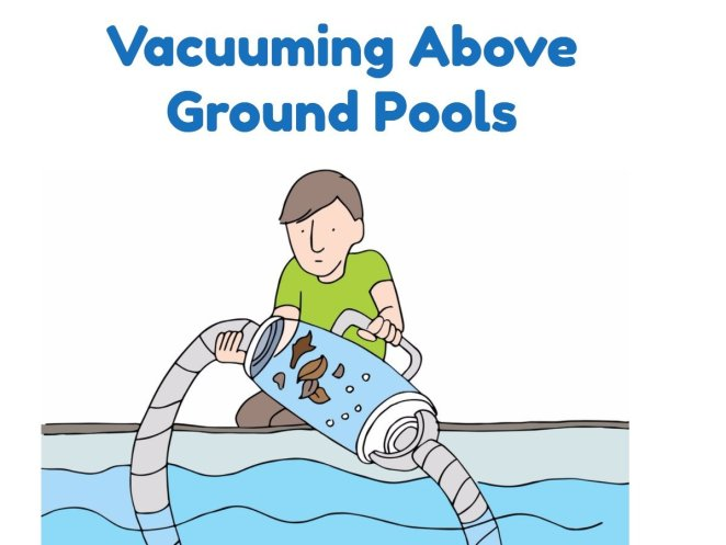 Vacuuming Above Ground Pools