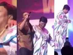 Wizkid Shares Throwback Video Of Him And His Mom Dancing On Stage