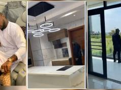 Too Much Money! Davido Shows His New House Which Has An Elevator In Banana Island (Video)