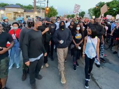 After Donating $2m To Families Of George Floyd, Breonna Taylor and Ahmaud Arbery, Kanye West Leads Protesters To March Round Streets Of Chicago (Photo+Video)