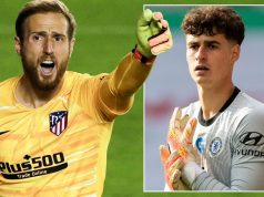 Chelsea To Offer Kepa Plus Cash For Atletico Madrid's Keeper, Oblak