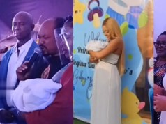 Watch Video From Regina Daniels And Ned Nwoko's Baby's Naming Ceremony