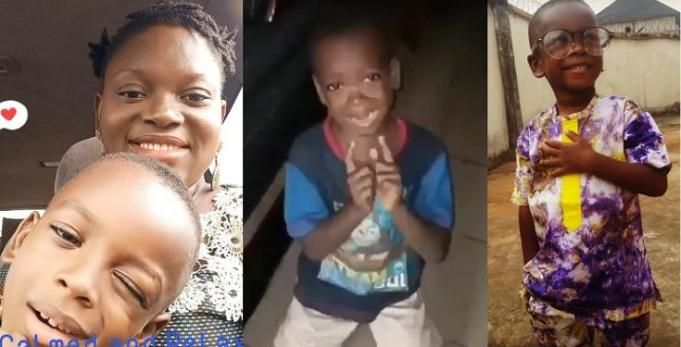 """I Didn't Make The Video To Abuse My Son – Mother Of Little Boy Who Begged Her To """"Calm Down"""" Speaks Up"""