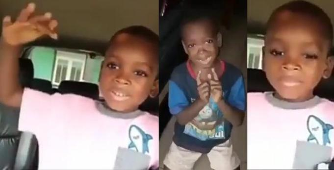 My Mom Did Not Beat Me, She Calmed Down – Little Boy Speaks Again In New Video