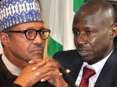 Buhari Opens Up On Why He Decided To Suspend EFCC Acting Chairman, Ibrahim Magu
