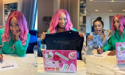 DJ Cuppy Signs Music Deal With London Based Record Label