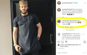 """""""Never Seen A Yellow Boy This Cute"""" – Actress Nkechi Blessing Gushes Over #BBNaija's Ozo"""