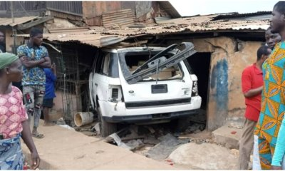 An Only Girl Child 8 Year-Old Killed After SUV Rammed into a Building in Lagos. So Sad! (Photo)