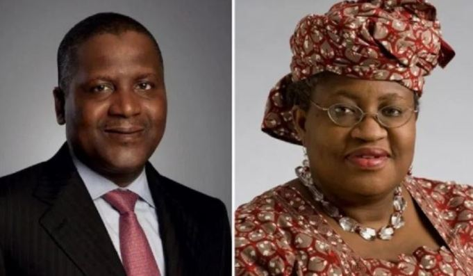 Ngozi Okonjo-Iweala Endorses By Aliko Dangote For World Trade Organization DG Job