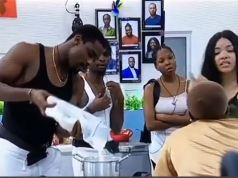 BBNaija: Housemates Loot Biggie's Store Ahead Of Final Eviction