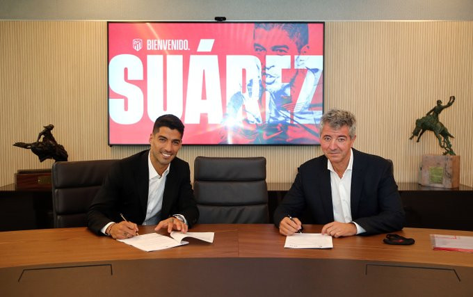 Atletico Madrid Complete Signing Of Striker Luis Suarez From Barcelona For £5.5m