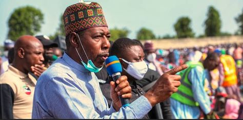 Horror! Boko Haram Terrorists Open Fire On Borno Governor's Convoy, Kill 15 People
