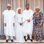 See Awesome Photos From The Wedding Of President Buhari's Daughter, Hanan