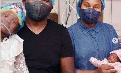 Nigerian Rapper, Illbliss And Wife Munachiso Welcome Their Second Child Together (Photos)