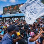 The Moment #EndSARS Protesters Chanted 'Shame' As Governor Sanwo-Olu Addressed Them (Video)
