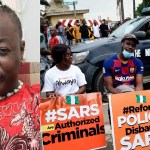 #EndSars: Charly Boy Praises Nigerian Youths For Chasing Off Sowore At Protest Ground (Video)