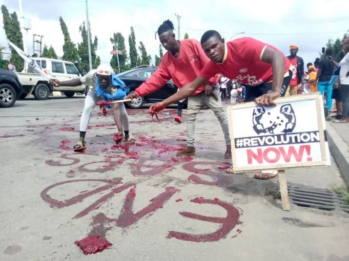 #EndSARS: Police Accuse Protesters Of Killing Policeman, Stealing One AK47 Riffle In Delta State