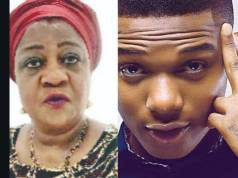 Shame On You! Shame On You!! - Wizkid Blasts Lauretta Onochie