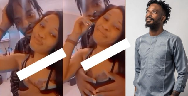 Singer 9ice Is Spotted Caressing Another Lady Inside Hotel Room (Video)