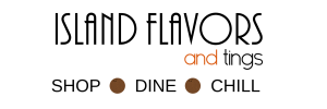 Above Promotions Branding and Graphic Design Work Island Flavors and Tings logo