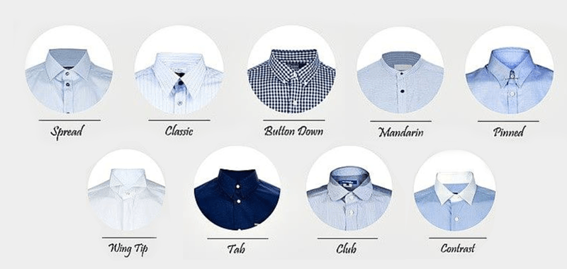 Do You Know Your Shirt Collar Styles?