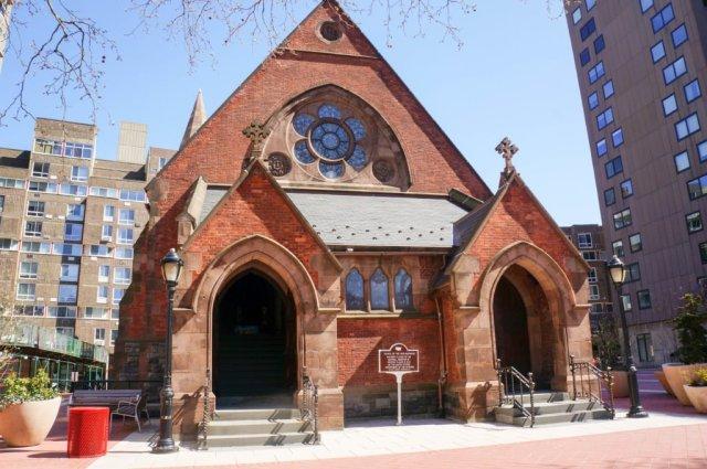 Chapel of Good Shepherd - front