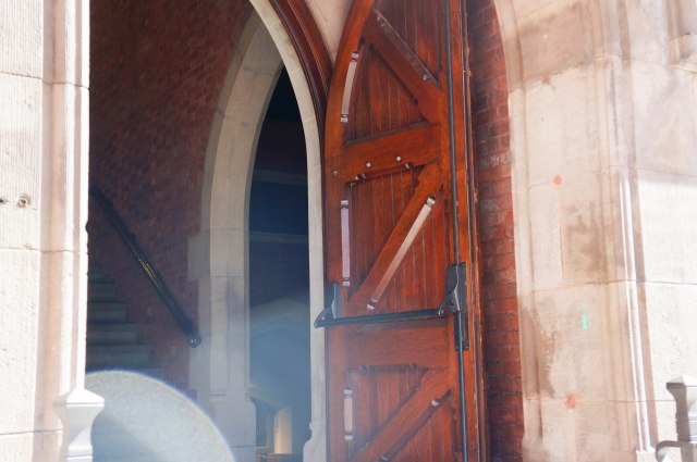 Chapel of Good Shepherd - one door