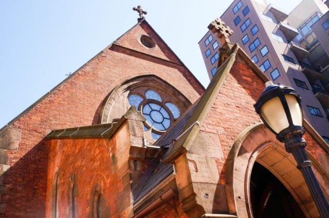Chapel of Good Shepherd - looking up