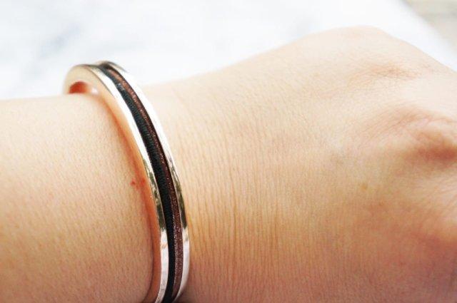 Bracelet on wrist