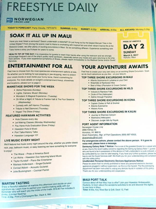Day-2 -Maui - Freestyle Daily