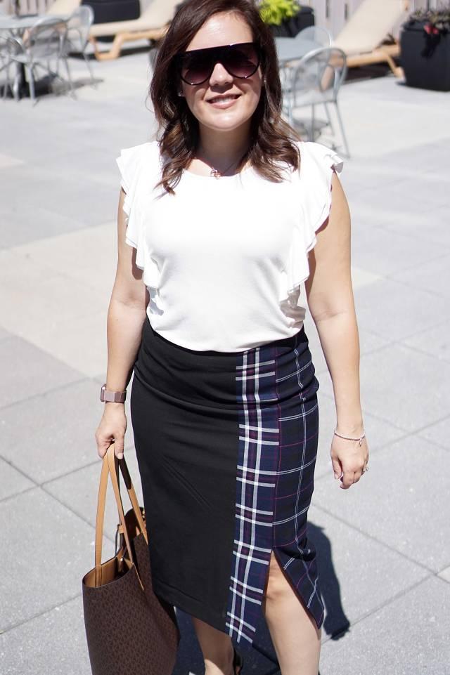 Medium Shot of Nordstrom Skirt
