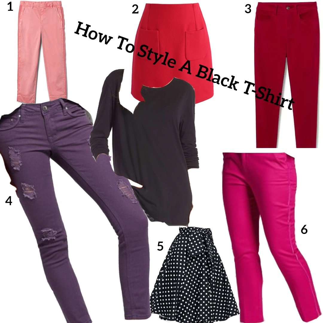 Style-A-Black-Shirt Using Color